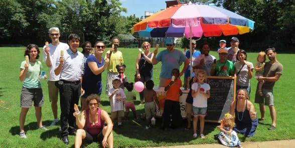 Photo of Park Pride volunteers