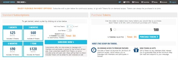 Screenshot of Neumate's payment plans