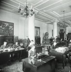 Photo of the Salada Tea Building in Boston