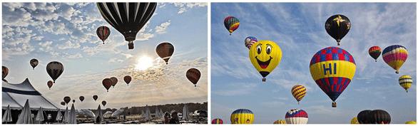 Photos from the Sunrise Balloon Breakfast