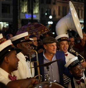 Photo of Woody Harrelson at the New Orleans Film Festival