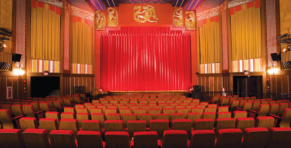 Photo of one of the Coolidge's theaters