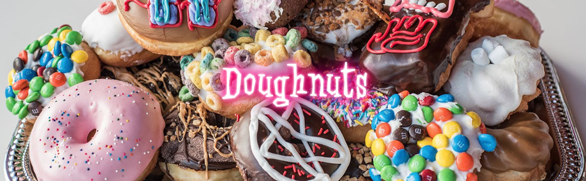 Screenshot of Voodoo Doughnut selection
