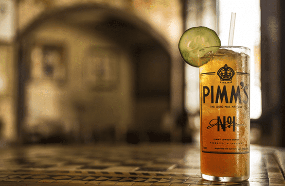 Photo of a Pimm's Cup at the Napoleon House