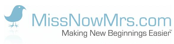 Photo of the MissNowMrs.com logo