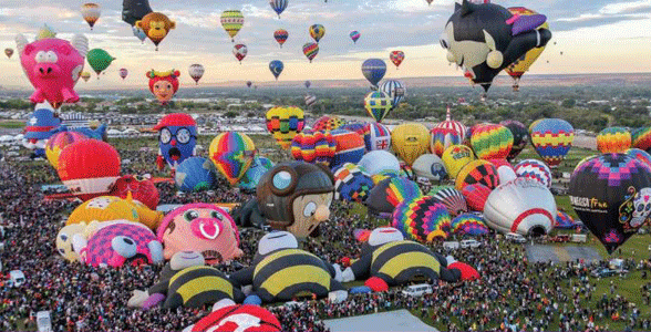 Photo of the Albuquerque International Balloon Fiesta