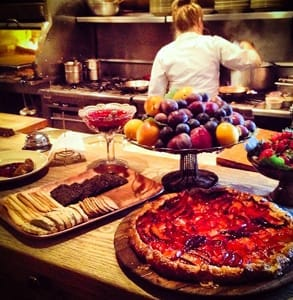 Photo of food served at Chez Panisse