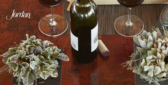 Screenshot of Jordan Vineyard and Winery's website