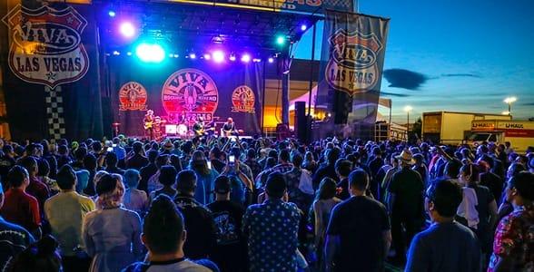 Photo of a Viva Las Vegas Rockabilly Weekend concert