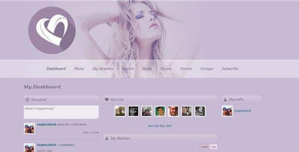 Screenshot of SeekingSugarMummy's dashboard