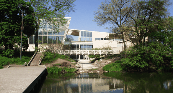 Photo of the Peggy Notebaert Nature Museum in Chicago