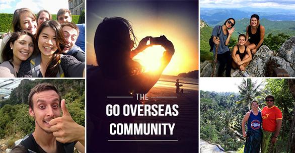 Photo of Go Overseas' community of travelers