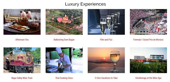 Screenshot of Luxe Adventure Traveler blog