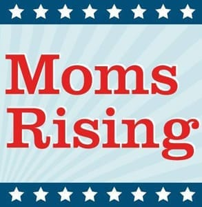 Photo of the MomsRising logo