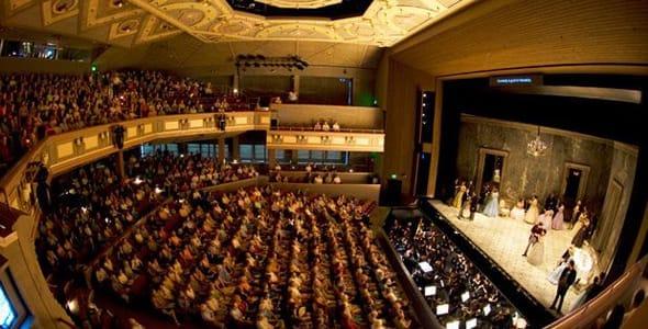 Photo of the Alice Busch Opera Theater