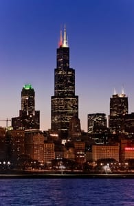 Photo of the Willis Tower in Chicago
