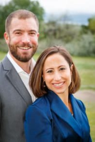 Photo of Dr. Jenni Skyler and her husband, Daniel
