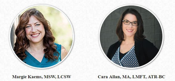 Photo of Counseling Center of Cherry Creek therapists Margie Kaems and Cara Allan