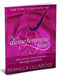 Photo of Pernilla Lillarose's book Divine Feminine Flow