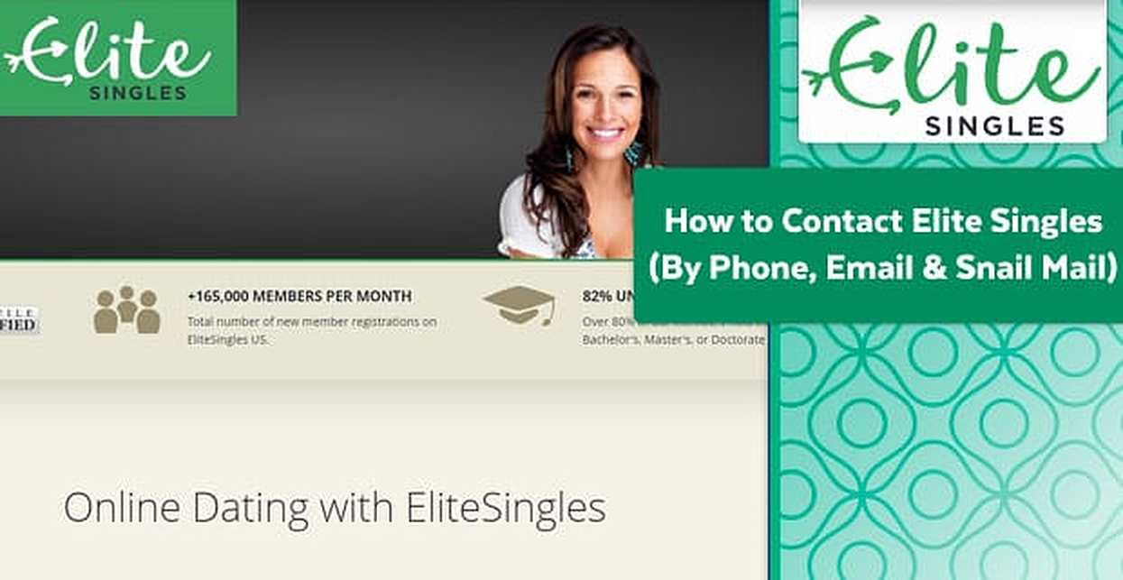 How to Contact Elite Singles