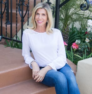 Photo of April Beyer, CEO of LEVEL matchmaking firm