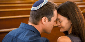 Photo of a Jewish couple