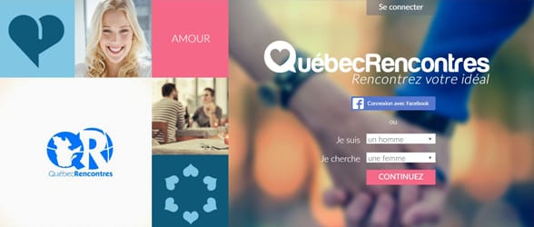 Screenshot of Quebec Rencontres