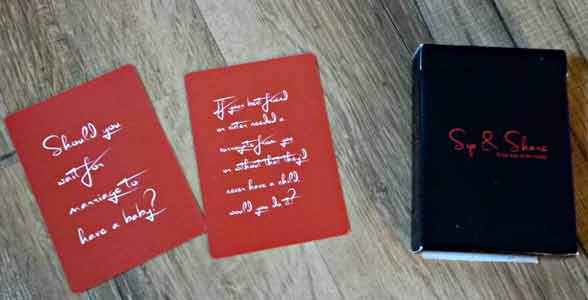 Photo of the Sip & Share Card Game