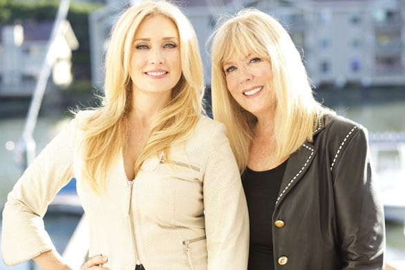 Photo of Amber Kelleher-Andrews and her mother, Jill Kelleher, of Kelleher International
