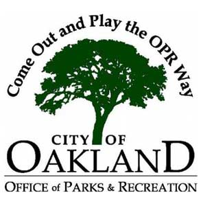 Photo of Oakland's Office of Parks & Recreation logo