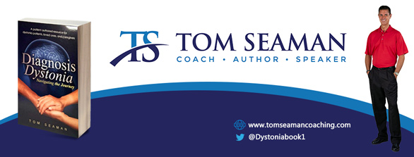 Photo of a Tom Seaman book banner