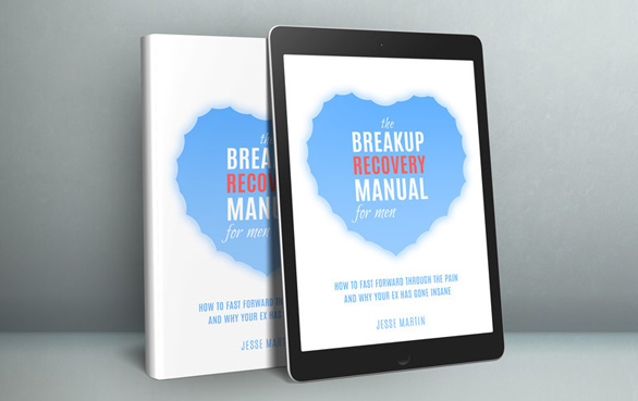 Photo of Jessie Martin's book The Breakup Recovery Manual for Men