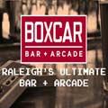Boxcar Bar + Arcade Logo
