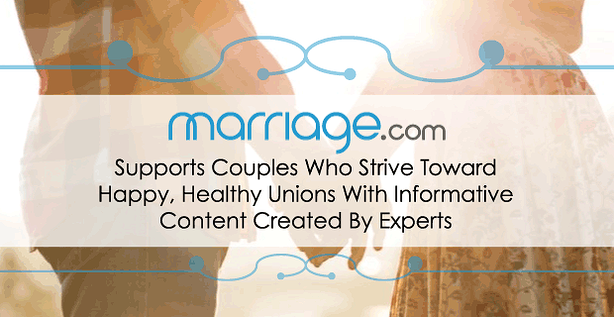 Marriage.com Supports Couples Who Strive Toward Happy, Healthy Unions With Informative Content Created By Experts