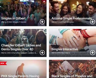 Mesa Singles Events