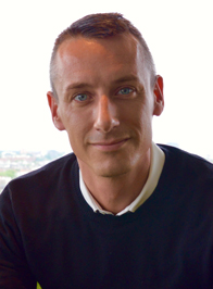 Photo of Gui Bosselaers, ROMEO's Chief Marketing Officer