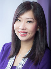Photo of Violet Lim, Co-Founder and CEO of Lunch Actually