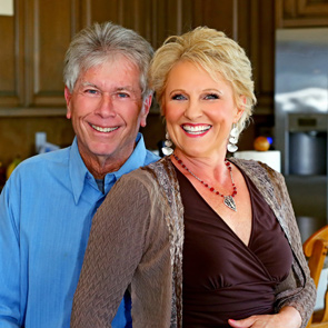 Photo of Julie Ferman and her husband