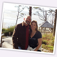 Photo of an OurTime couple