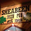 Sheabeen Irish Pub Logo