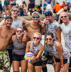 Photo of The Toledo Sport and Social Club's mud volleyball