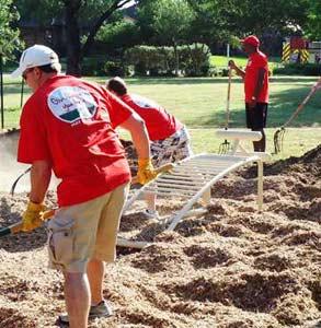 Photo of volunteers in Arlington