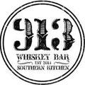 913 Whiskey Bar & Southern Kitchen Logo