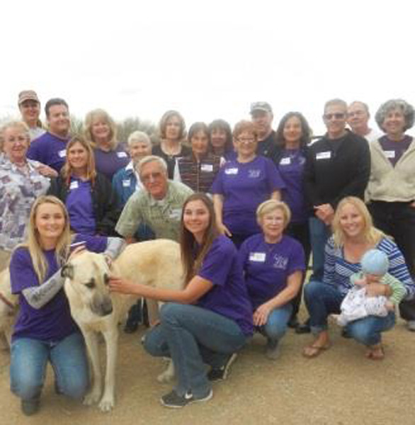 Photo of the Four Peaks Animal Rescue volunteers
