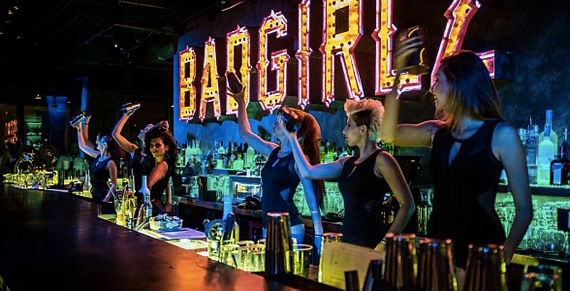 Photo of a lesbian bar
