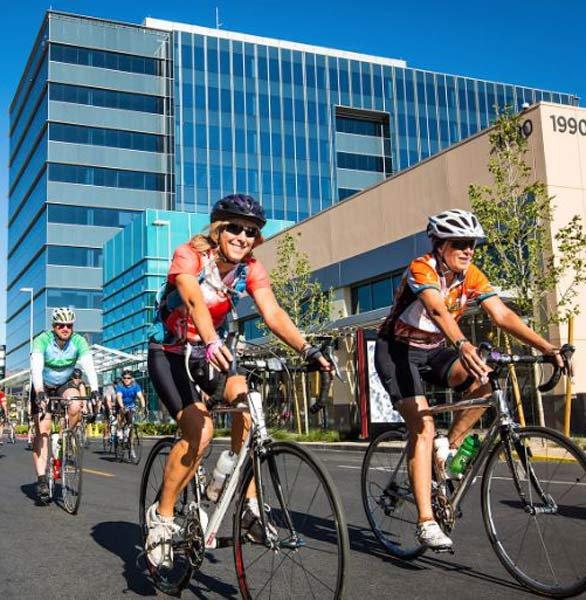 Photo of cyclists in Henderson