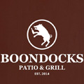 Boondocks Patio & Grill Logo