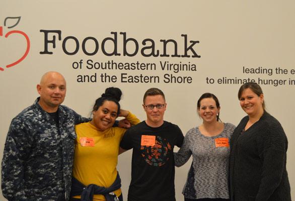 Photo of Norfolk volunteers