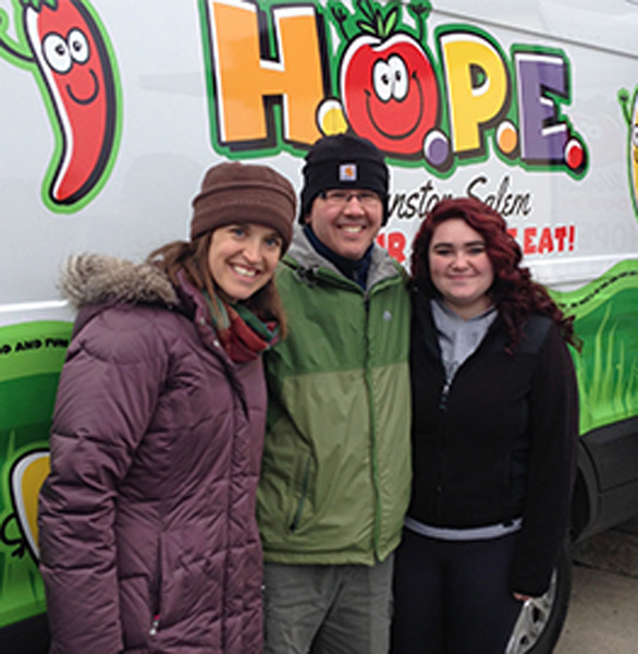 Photo of HOPE volunteers