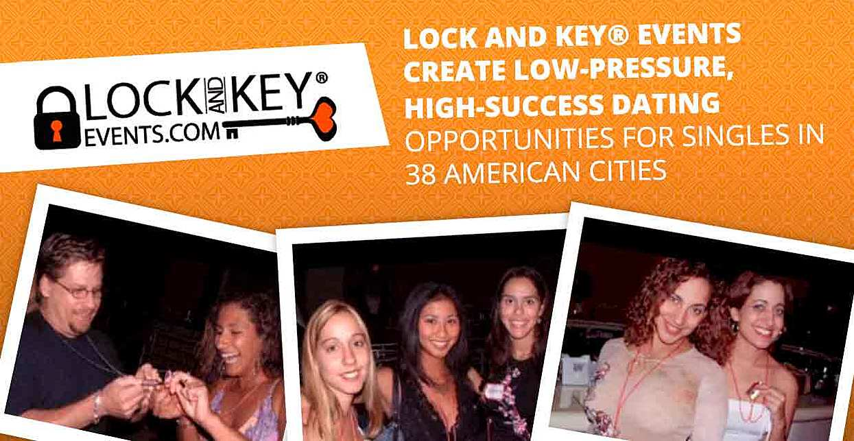Lock and Key® Events Create Low-Pressure, High-Success Dating Opportunities for Singles in 38 American Cities